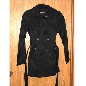 Express Black Coat XS